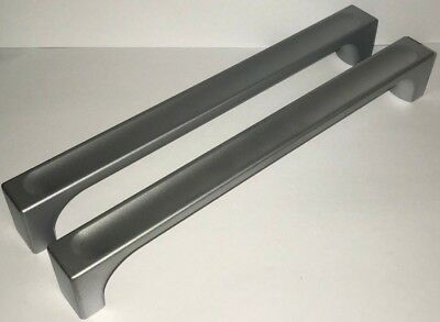 2 Quality Satin Stainless Steel Kitchen Unit 190mm hole Handles - more available