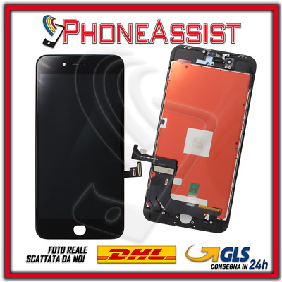 DISPLAY LCD VETRO TOUCH Apple iPhone 8+ Plus SCHERMO ORIGINALE TIANMA Nero