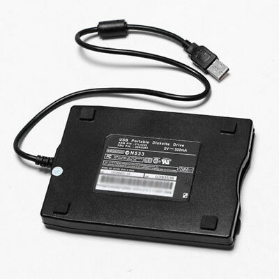 Floppy Disk Drive for Laptop Black Portable Diskette Win ME/2000/XP Durable Hot