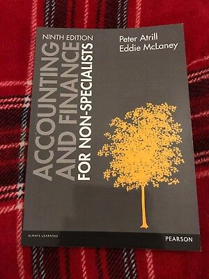 Accounting And Finance For Non-Specialists - Ninth Edition - New