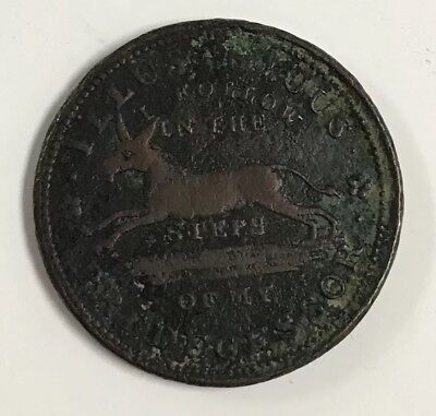 1837 Hard Times I Follow In Steps Predecessor Token