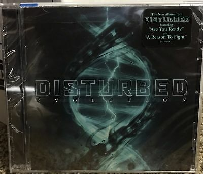 Disturbed CD NEW SEALED  - Evolution-Released October 2018 FREE SHIPPING
