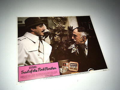 TRAIL OF THE PINK PANTHER Movie Lobby Card Poster Peter Sellers as Clouseau #6