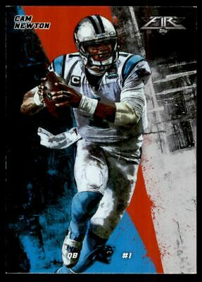 2015 Topps Fire Flame #98 Cam Newton