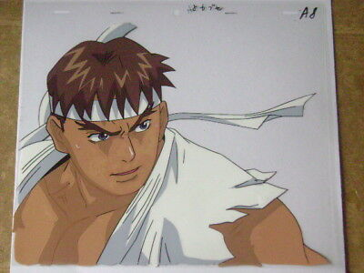 Street Fighter Alpha Zero Ryu Anime Production Cel 3 374 99
