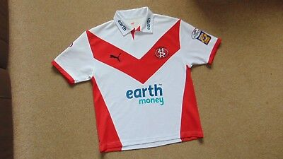 Mens Vintage St Helens Rugby League Legend Hooper 16 2006 Home Shirt Size Small