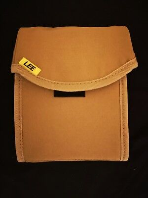 LEE FILTERS 100mm FIELD POUCH / Case / Bag - SAND