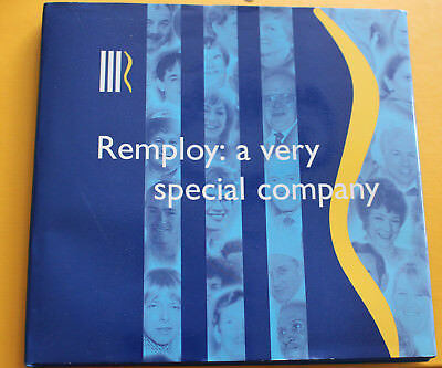 H/B Book with D/J - REMPLOY: A VERY SPECIAL COMPANY by Frank Edwards - RARE