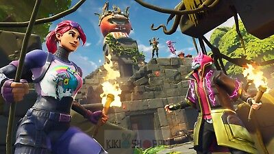 Poster 42x24 cm Videogame Videojuego Fortnite Battle Royale Cartel 37