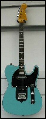 Tenor Guitar - Solid Body Electric - Soarers'y Guitars - Sea Foam Green