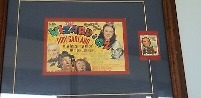 Judy Garland Wizard of oz Authentic Movie Film Poster & Stamp
