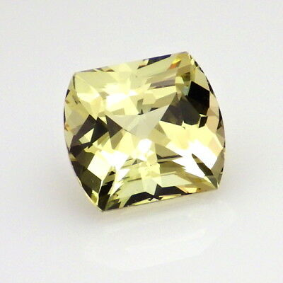 APATITE-MEXICO 3.05Ct FLAWLESS-NATURAL YELLOW GREEN COLOR-FOR UNIQUE JEWELRY!
