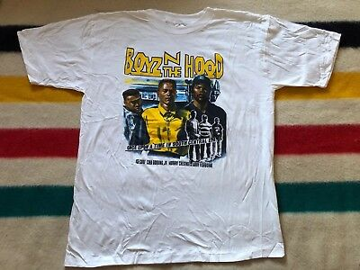 VTG 90s Boyz N The Hood Movie Promo Shirt Sz XXL Rap Tee Ice Cube NWA Tupac UA