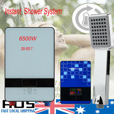 Instant Hot Electric Water Heater Portable Shower Home Camping Hot Water System