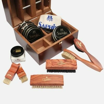 Saphir Mahogany Shoe Care Kit