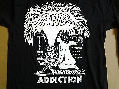 Vintage Janes Addiction 1997 Tour Long sleeve shirt sz Lrg