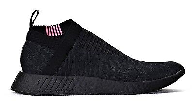 newest collection 41617 1ba22 New Adidas Originals Nmd Cs2 Pk Primeknit Men's Black Pink Shoes Cq2373  Slip On