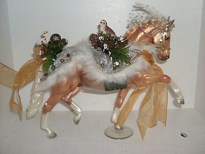 Breyer Christmas Winter Wonderland Horse No Box