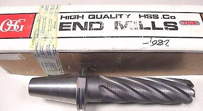 Roughing End Mill Shaft Cutters Ø60 x R12 x 180mm Auf Sk50 Din69871 New by OSG
