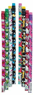 Hello! Kitty Pencils and erasers 8 Pencils 8 erasers.