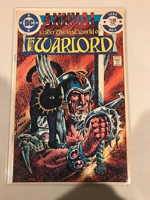 Enter the Lost World of the Warlord #1 1982 VF B102