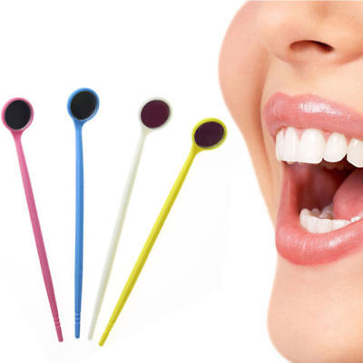 Disposable Mouth Exam Mirrors Plastic Dental Instrument For Dental Clinic