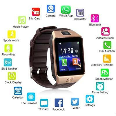 DZ09 Smart Watch Sim Phone Bluetooth Camera Apple & Android Compatible UK Stock