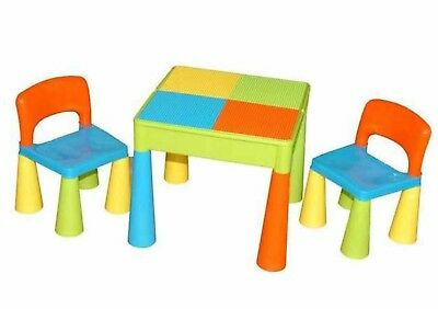 Children  Monarch Deluxe Block Table and Chair Set for Children LU
