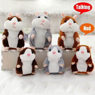 Cheeky Hamster Talking Pet Soft Toy Cute Sound Christmas Kid Gift High Quality