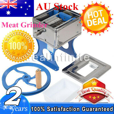 Hand Cranked Meat Grinder Meat Cutting Machine Manual Meat Grinder AU Local SHIP