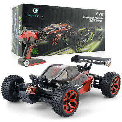 1/18 OFF Road RC Buggy Electric 2.4G 4WD Radio Control RTR Racing Car Powersport
