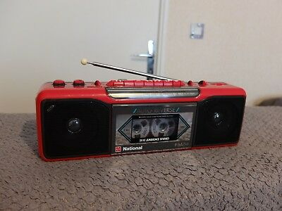 Boombox Ghettoblaster NATIONAL RX-FM24F / worldwide shipping