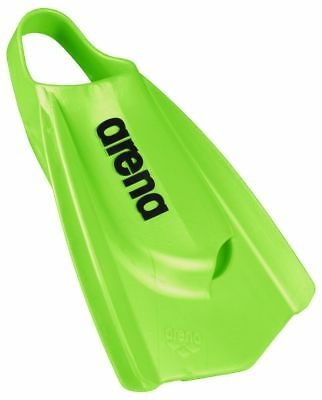 Arena Powerfin pro Lime Pinne. Nuoto Pinne. Arena Flippers.flippers
