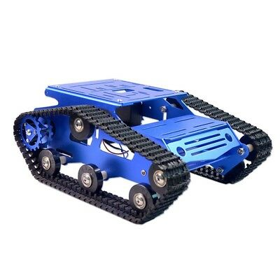 Unassembling RC Tank Chassis Kit DIY Parts Needed Smart Tracked Robot Platform