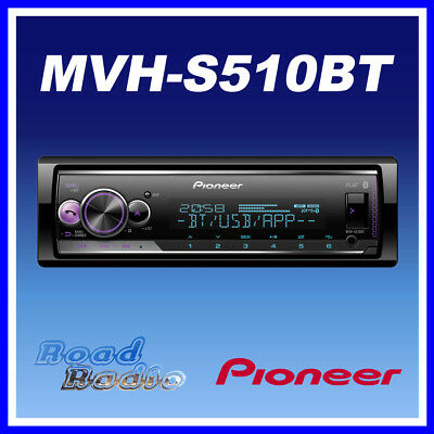 Pioneer MVH-S510BT Mechless Bluetooth Car Stereo USB Spotify iPhone/Android