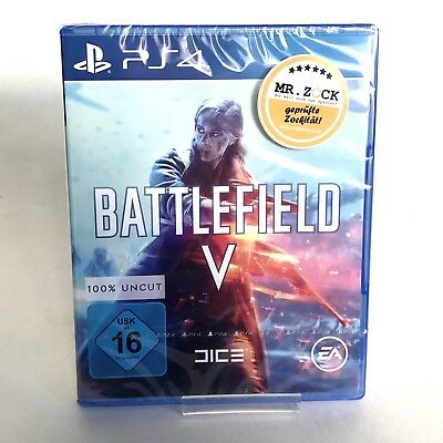 Battlefield V 5 - Deutsche Handelsversion - UNCUT - PlayStation 4 PS4 *nagelneu*