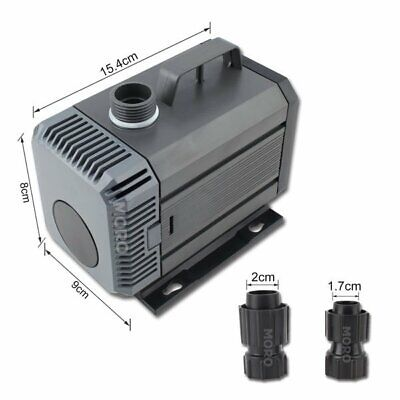5000L/H Under Water Pump Aquarium Fountain Pond Sea Fresh Fish Tank Hydroponic