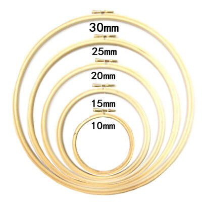 Ornament Embroidery Hoops Wooden Rings 10-30cm DIY Supply Exquisite Needlecraft