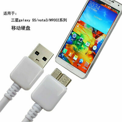 Original Samsung Galaxy S5 Note 3 Note3 Micro USB 3.0 Cable Smart Mobile Phone F