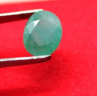 Ggl Certified 5.70Ct Natural Oval Cut Vivid Green Emerald Panna Gemstone