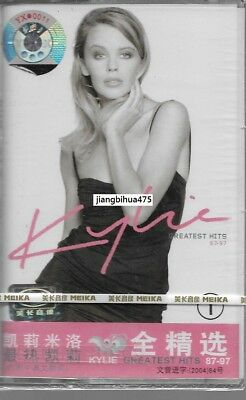 Kylie Minogue Greatest Hits 87-97 Vol.1 China cassette tape Sealed