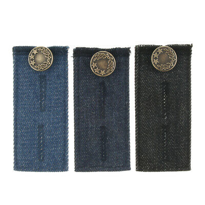 8/pack Waist Extender for Jeans Pants Trousers Adjustable Button Extender