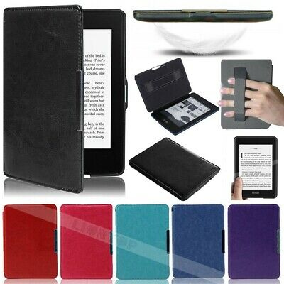 """Leather Slim Cover Case For 6"""" Amazon Kindle Paperwhite (10th Generation) 2018"""
