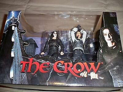 "Neca Il Corvo ""The Crow"" In Combattimento 18 Cm Action Figure (Scatola Rovinata)"