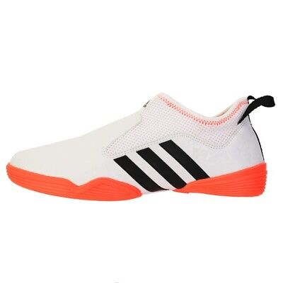 ADIDAS CONTESTANT TAEKWONDOTKDMARTIAL ArtsMMAKarate Shoes White(ADI BRAS16)