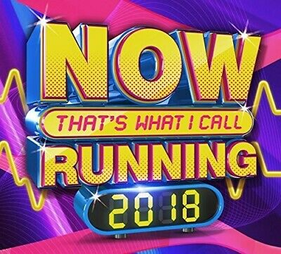 Various Artist - Now That's What I Call Running 2018 (CD Used Very Good)