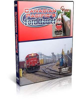 Canadian Pacific's Ford Hauler - C Vision Train DVD