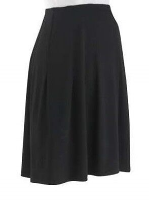 Black Skirt Womens Maternity Size Small to Medium Stretch Fabric Career 6-10 NEW