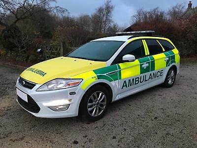 Ford Mondeo 2.0 tdci Zetec Estate 6 sp 2012 62 plate Ambulance RRV
