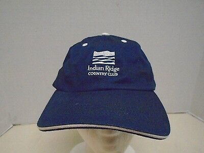 Indian Ridge Country Club Palm Springs California Hat Cap Baseball Golf Blue